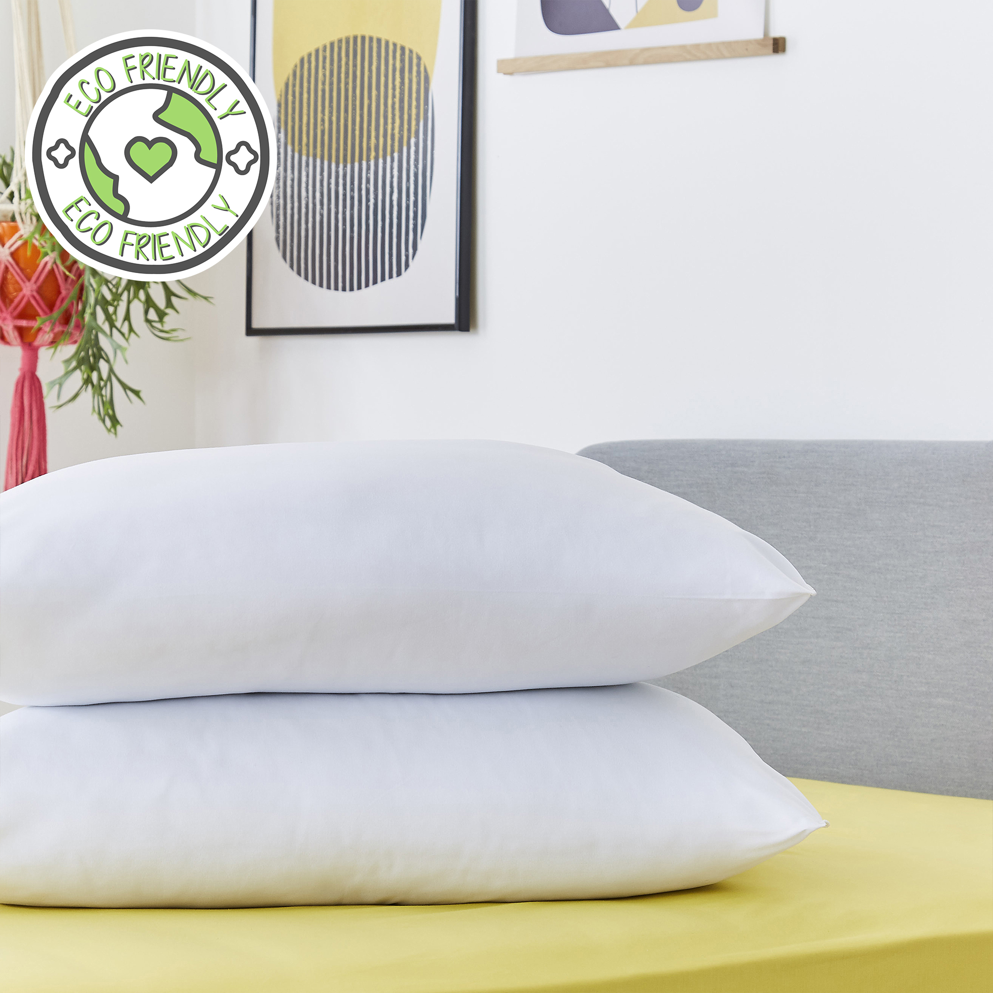 Snug Just Right Pillows – 2 Pack
