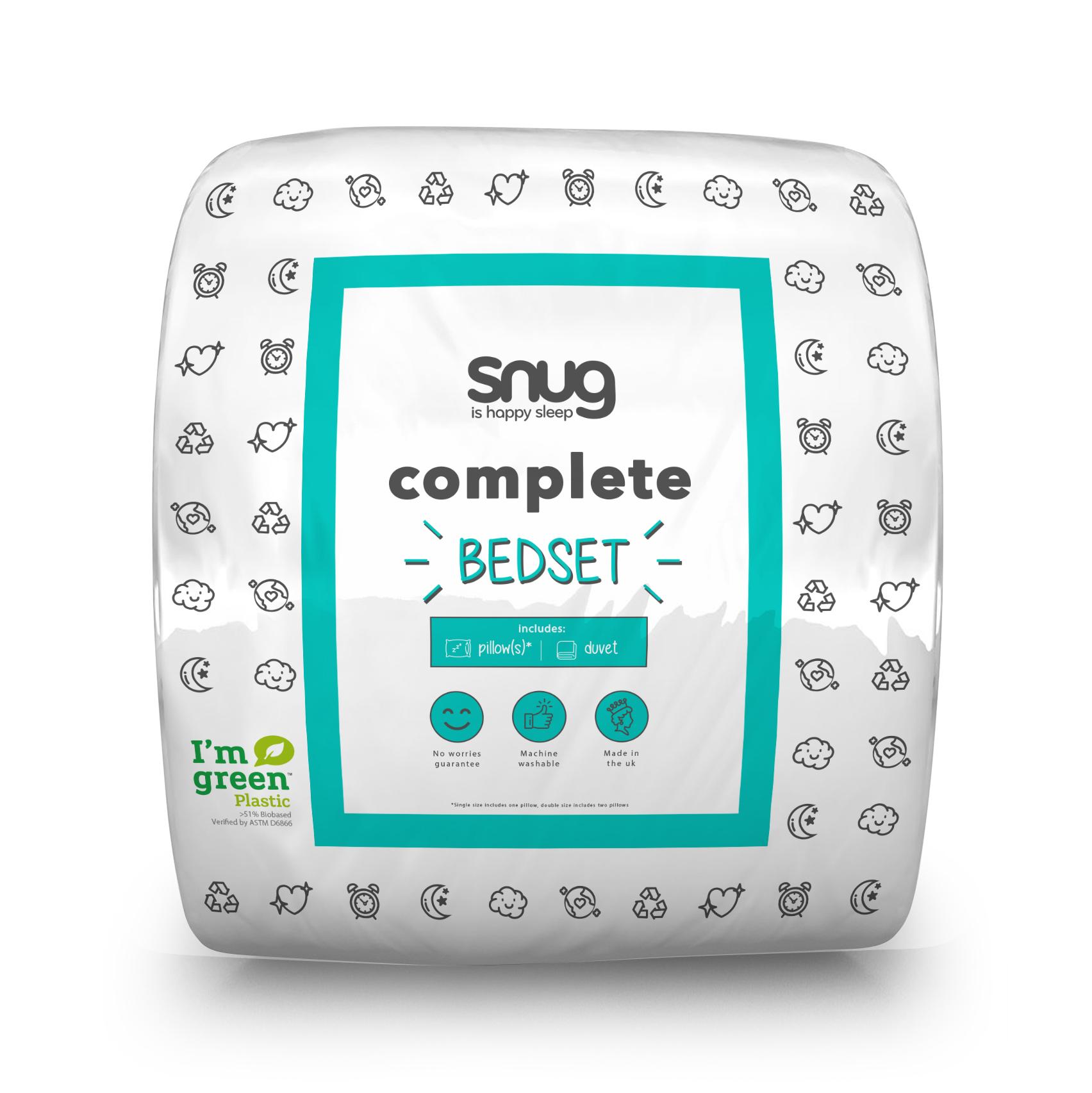 Snug Complete 10.5 tog Bedset